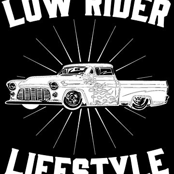 Low Rider Freestyle Retro Vintage Distressed Design by JakeRhodes