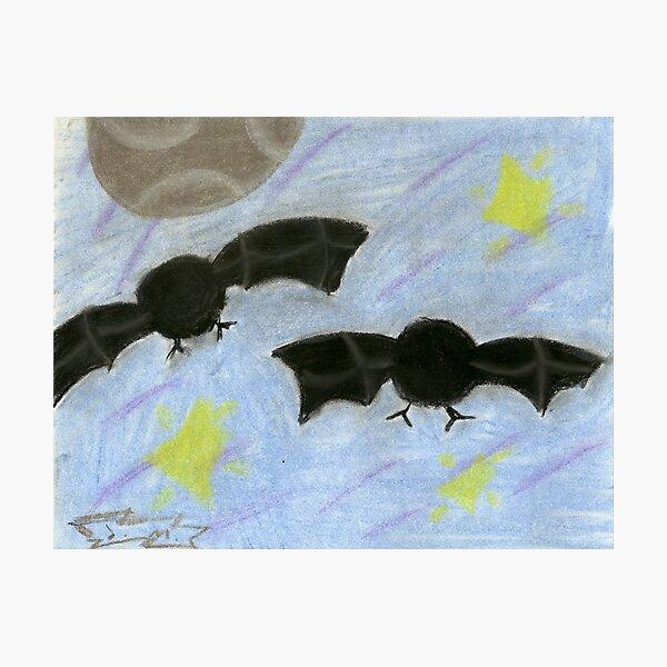 Fuzzy bats Photographic Print