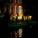 Brugge at Night by Sam Davis