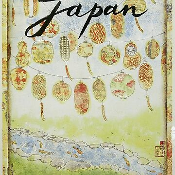 Vintage poster - Japan by mosfunky