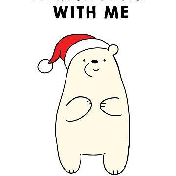 Please Bear with me funny Christmas shirt by tshirtfandom