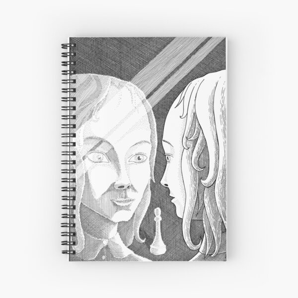 Alice Through the Looking-Glass Spiral Notebook
