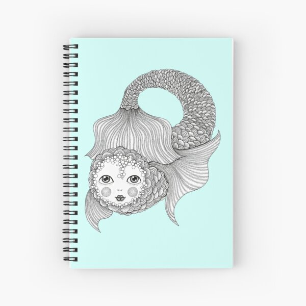 Something a bit fishy... Spiral Notebook