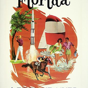 Vintage poster - Florida by mosfunky