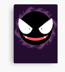 Pokemon - Gastly / Ghos Canvas Print