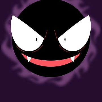 Pokemon - Gastly / Ghos by zefiru
