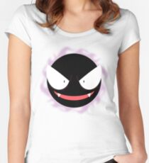 Pokemon - Gastly / Ghos Women's Fitted Scoop T-Shirt