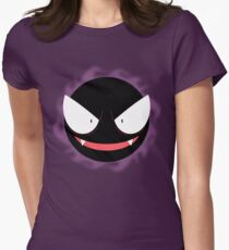 Pokemon - Gastly / Ghos Women's Fitted T-Shirt