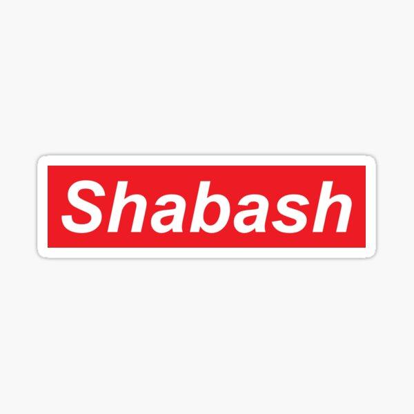 Shabash beta Sticker