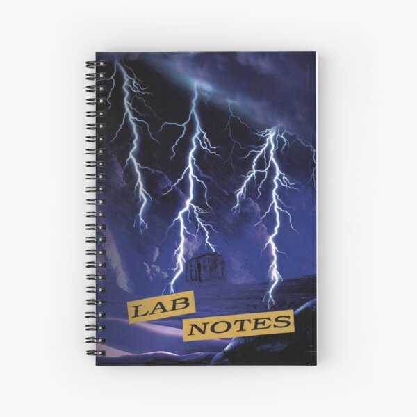 Notes de laboratoire de Gale | Breaking Bad Cahier à spirale