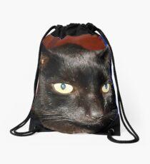 Oscar - Black Cat Portrait Turnbeutel