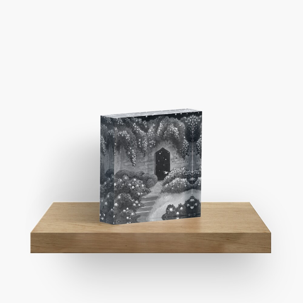 Midnight Garden Acrylic Block