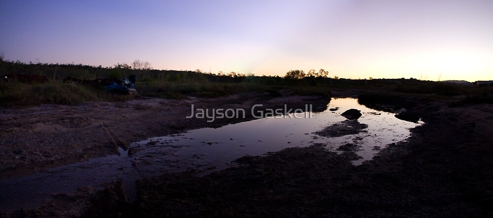 Sunset creek by Jayson Gaskell