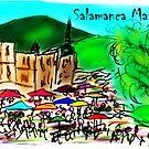 Salamanca Market Hobart Tasmania Australia by David Fraser