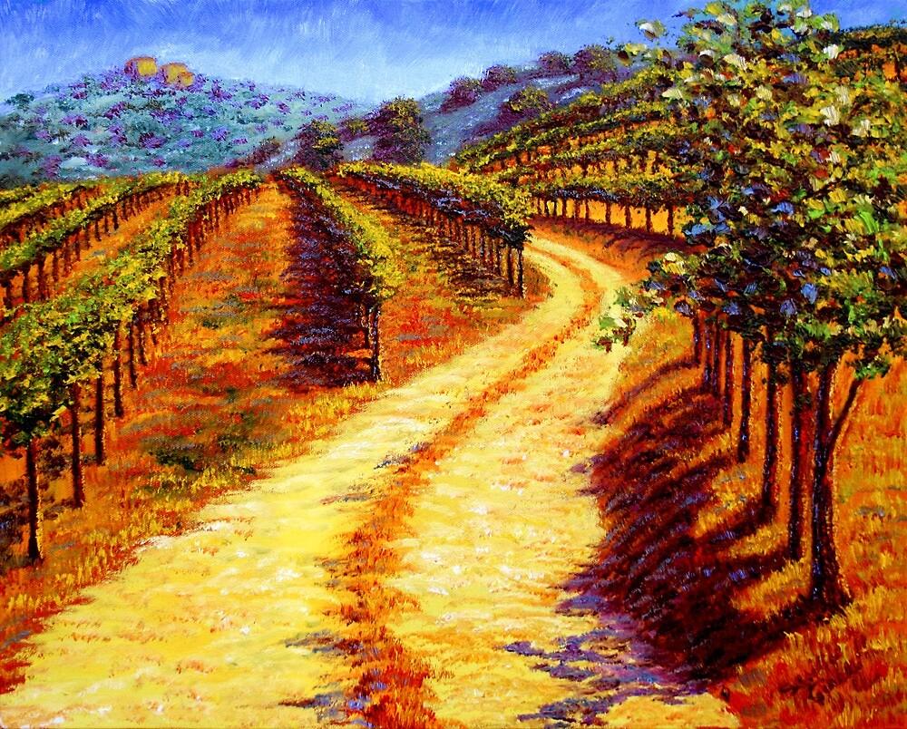 Sonoma Vineyard by sesillie