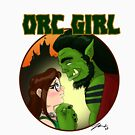 Orc Girl by amimercury