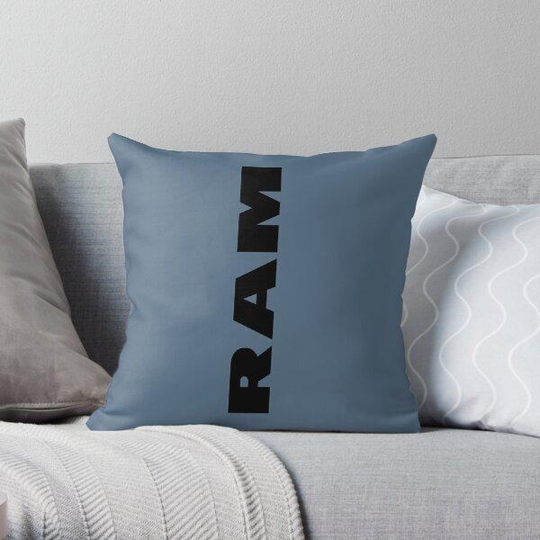 Ram Build  Throw Pillow