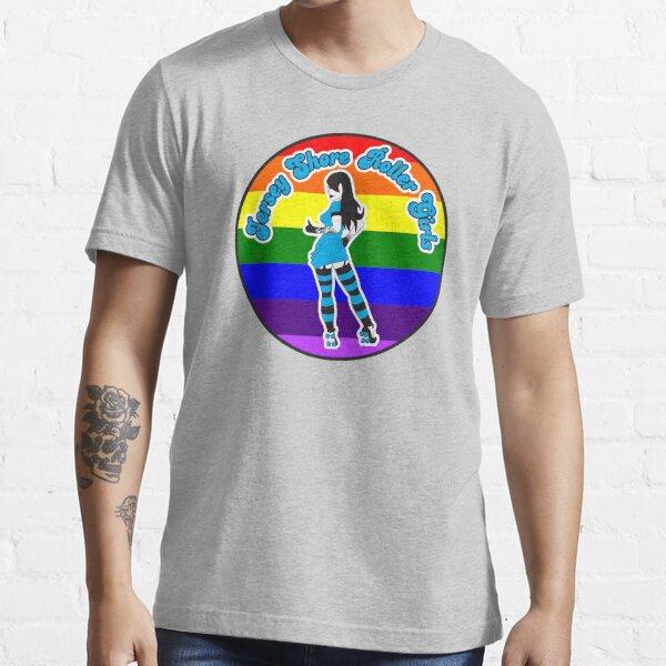 Jersey Shore Roller Girls Pride Logo Essential T-Shirt
