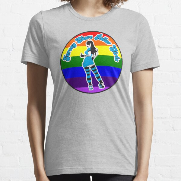 Jersey Shore Roller Girls Pride Logo Essential T-Shirt