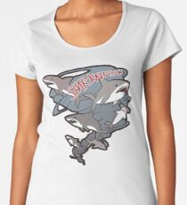 Cute Sharknado Women's Premium T-Shirt