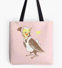 Cockatiel Maid Tote Bag