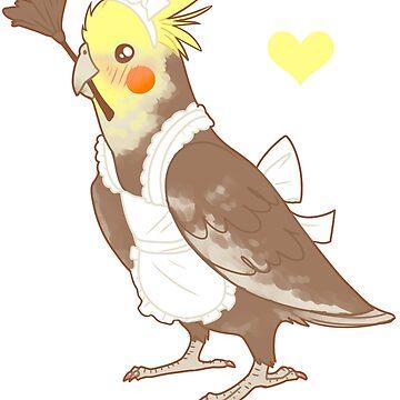 Cockatiel Maid de owlapin