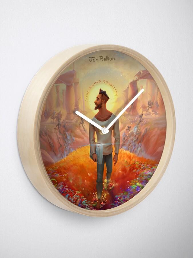 Alternate view of The Human Condition Jon Bellion Merch Clock