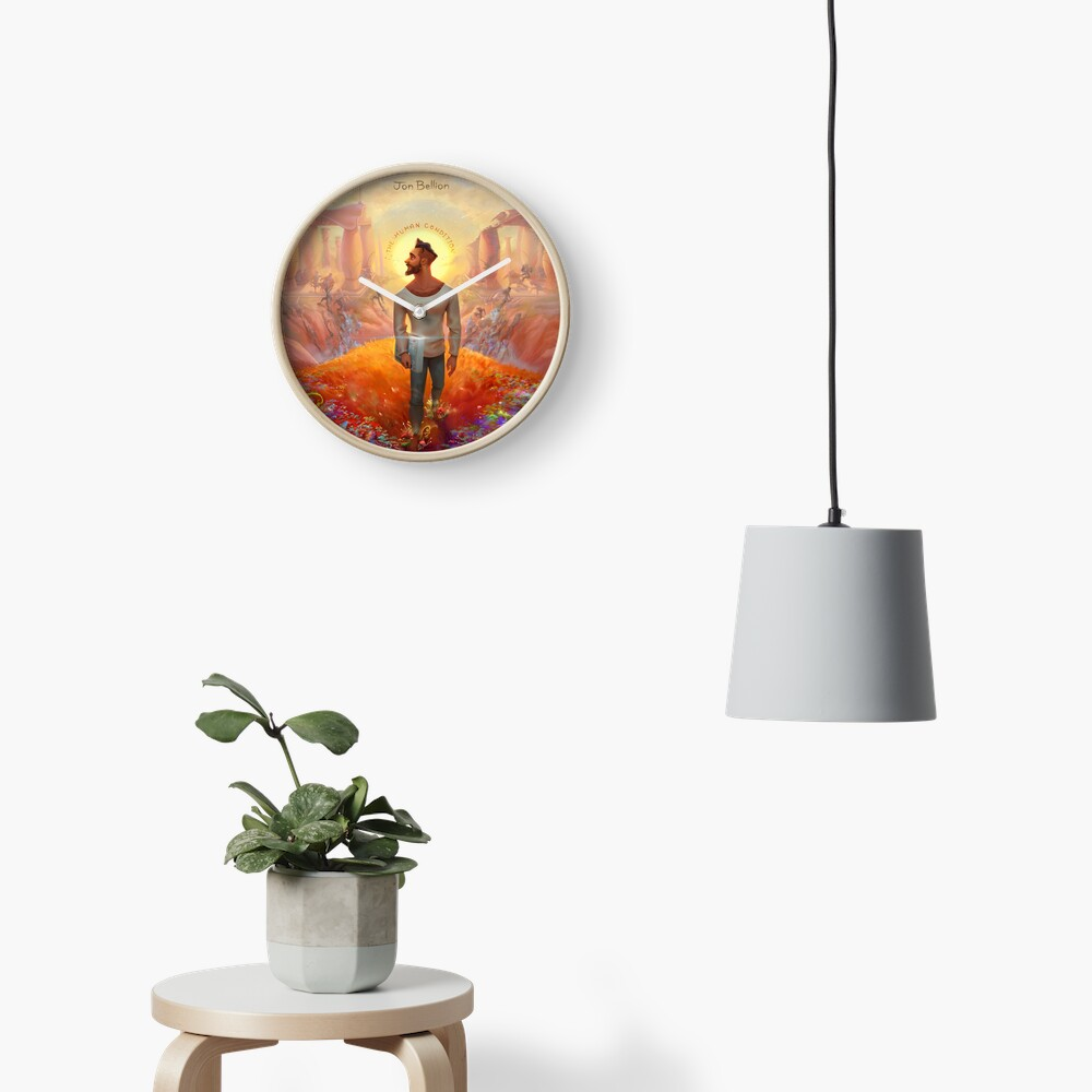 The Human Condition Jon Bellion Merch Clock