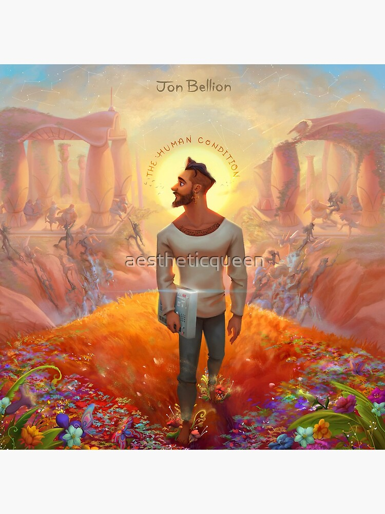 The Human Condition Jon Bellion Merch by aestheticqueen