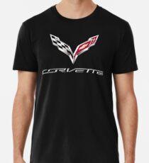 Camiseta premium corvette automobil