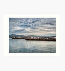 Seaview Marina Art Print