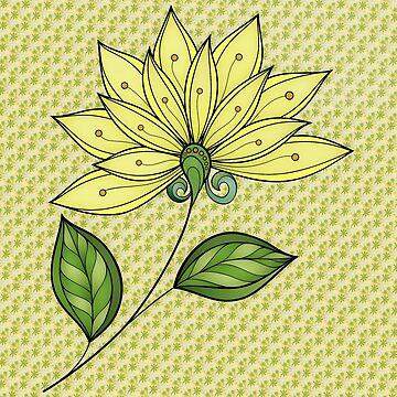 Yellow Flower by sagram45