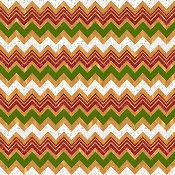 Christmas zigzag pattern by CatyArte