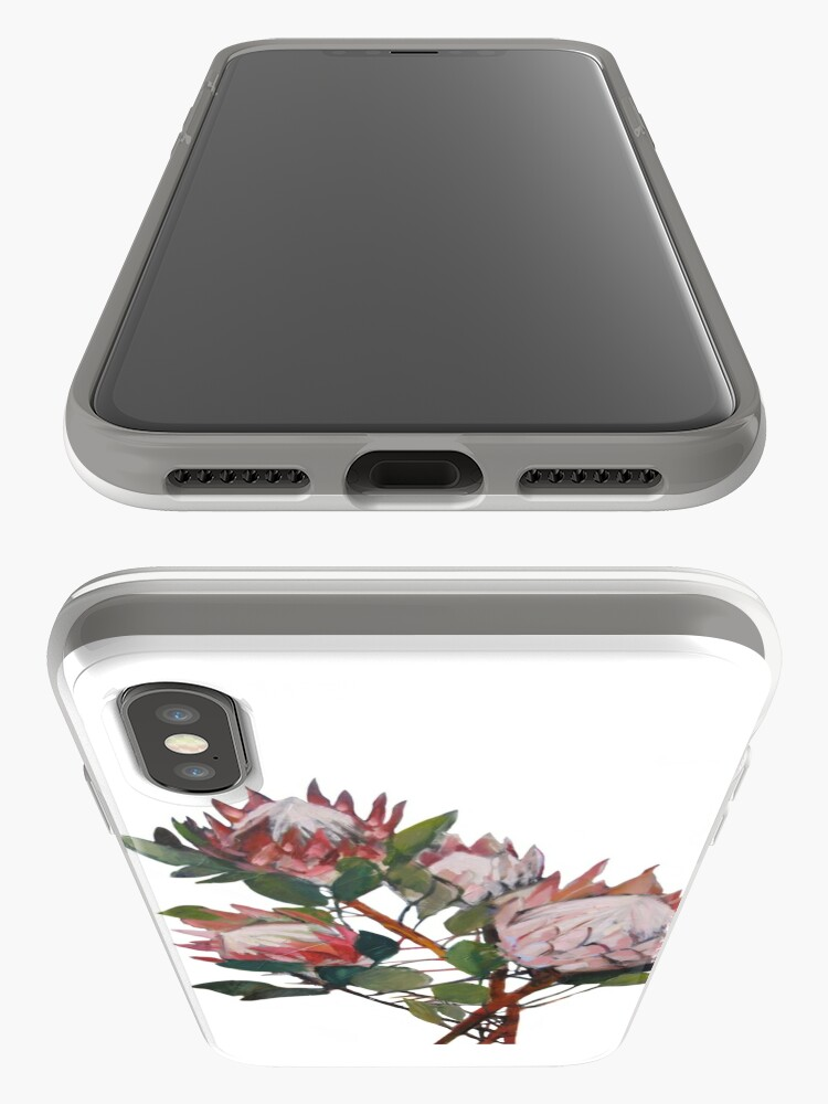 Alternate view of A Bunch of King Proteas  iPhone Case & Cover