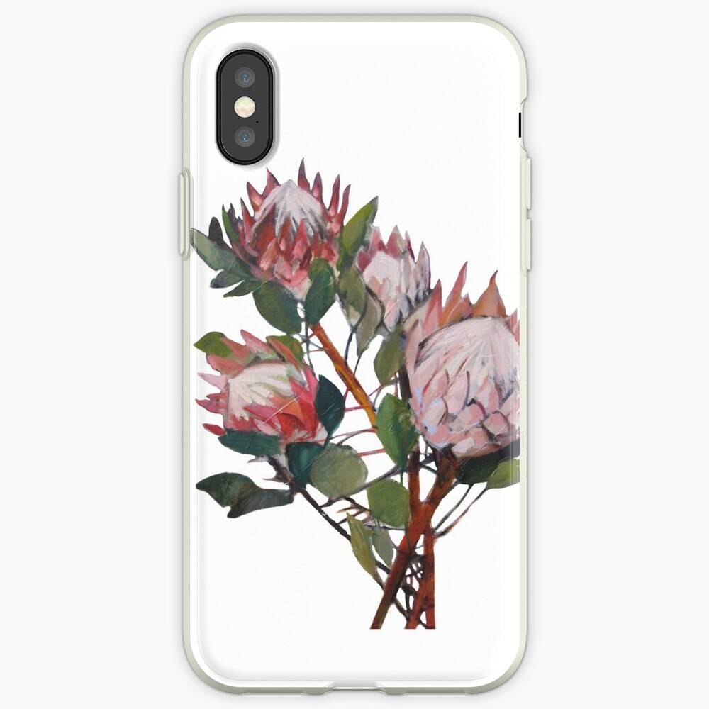 A Bunch of King Proteas  iPhone Case & Cover