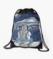 Midnight Wonderings, Mountain Soul Drawstring Bag