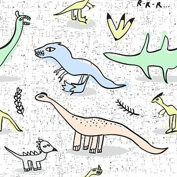 Dinos by panova