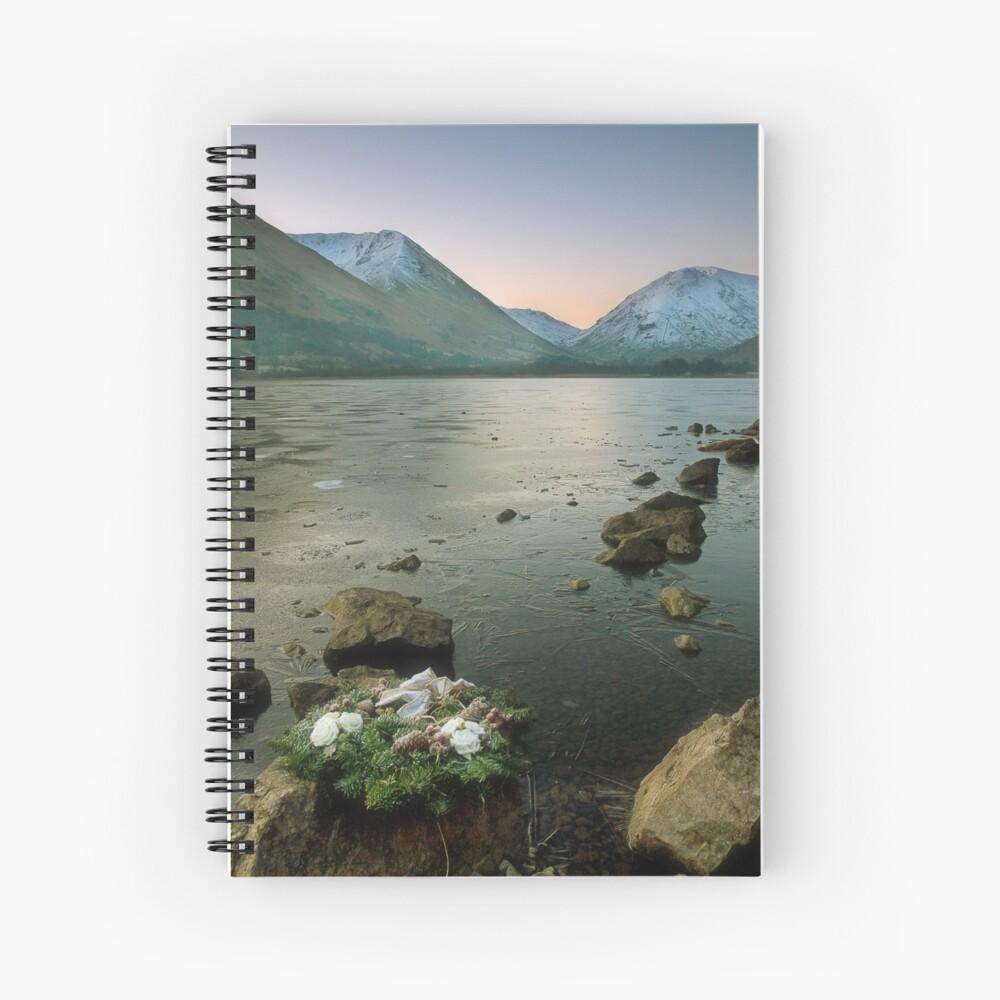 Wreath Spiral Notebook