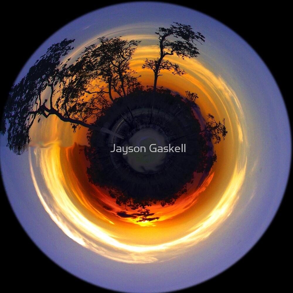 Sunset world by Jayson Gaskell