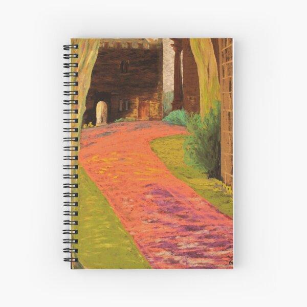 Alluring Encounter Spiral Notebook