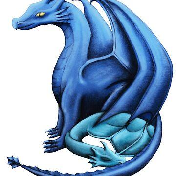 Blue Dragon Family by shaneisadragon