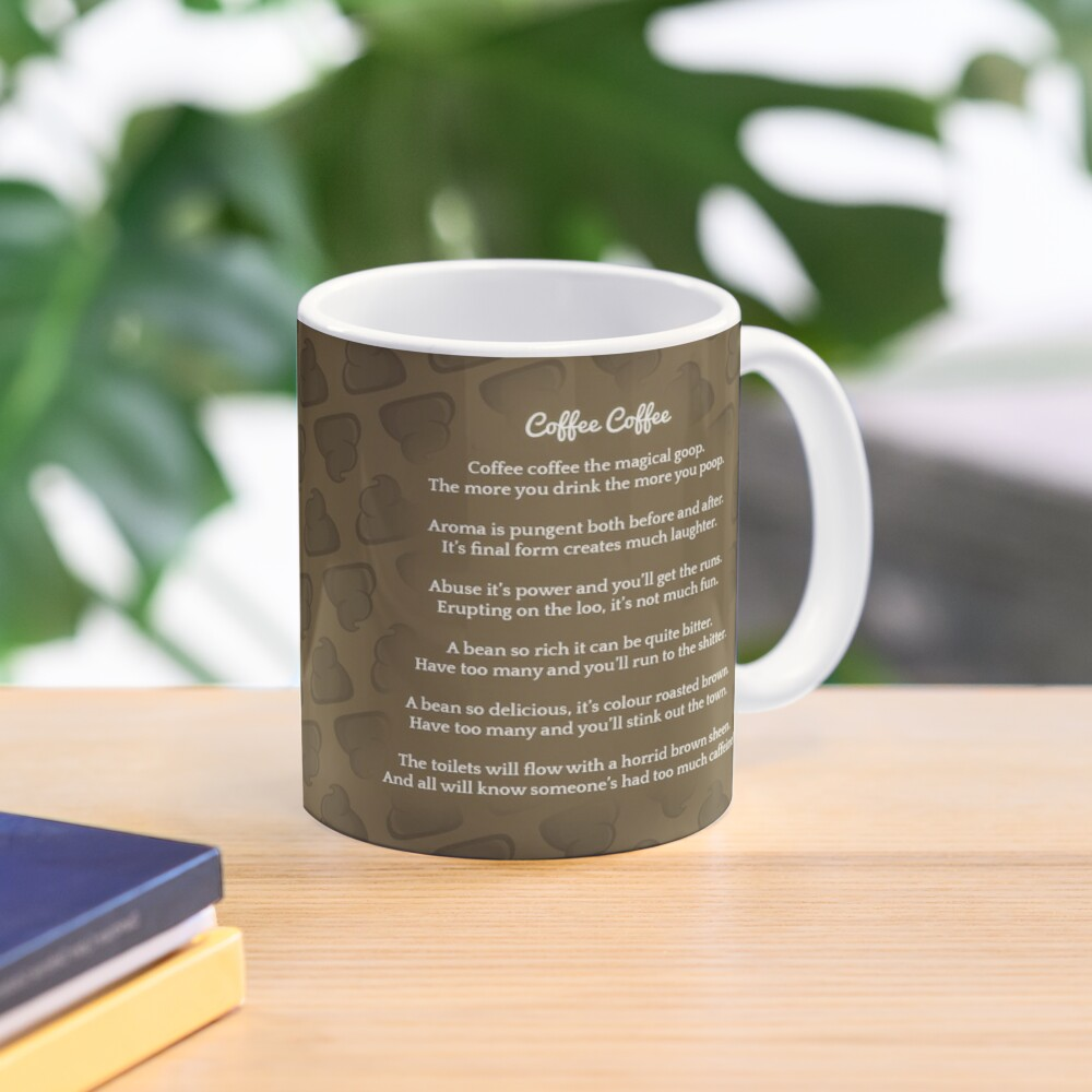 Coffee is My Pure Pooetry Fuel Mug