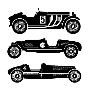 Retro Cars. by timothybeighton