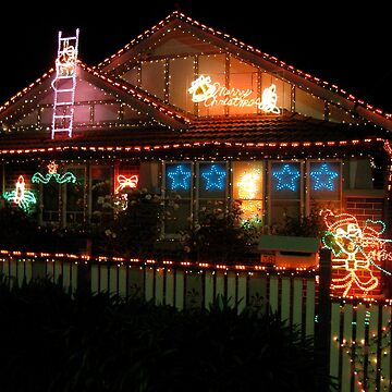 House of Christmas Lights by dalegillard