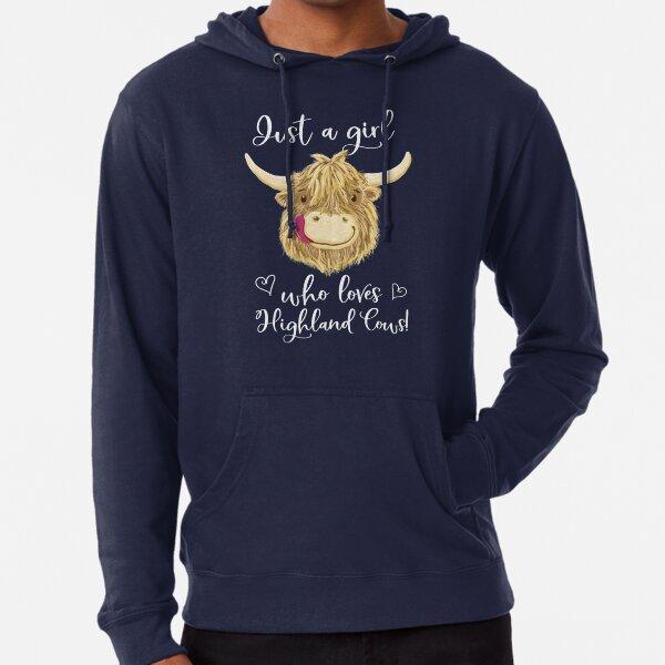 I Love Heart Steers Black Sweatshirt