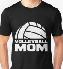 yolleyball mom thiswear proud sports team mother gift for mom volleyball Unisex T-Shirt
