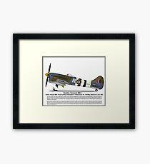 Hawker Tempest MKV Aircraft Profile Framed Print