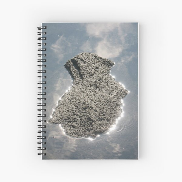 Silver Lining, Rock of Ages Spiral Notebook