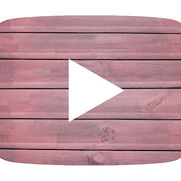 Youtube Pink von justonedesign