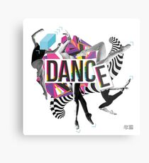 DANCE - A graphic tribute to BALLET -  Metal Print